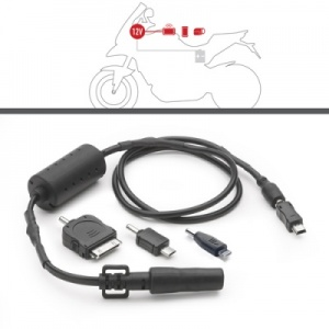 GIVI S112 Power Connection Kit for electrical supply to Handlebar